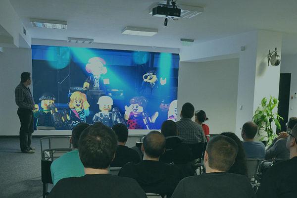 Presentation of films